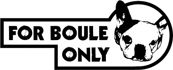 For Boule Only
